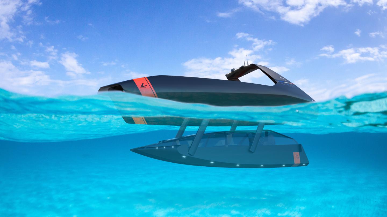 Swordfish : un hors-bord électrique qui voyage aussi SOUS la mer