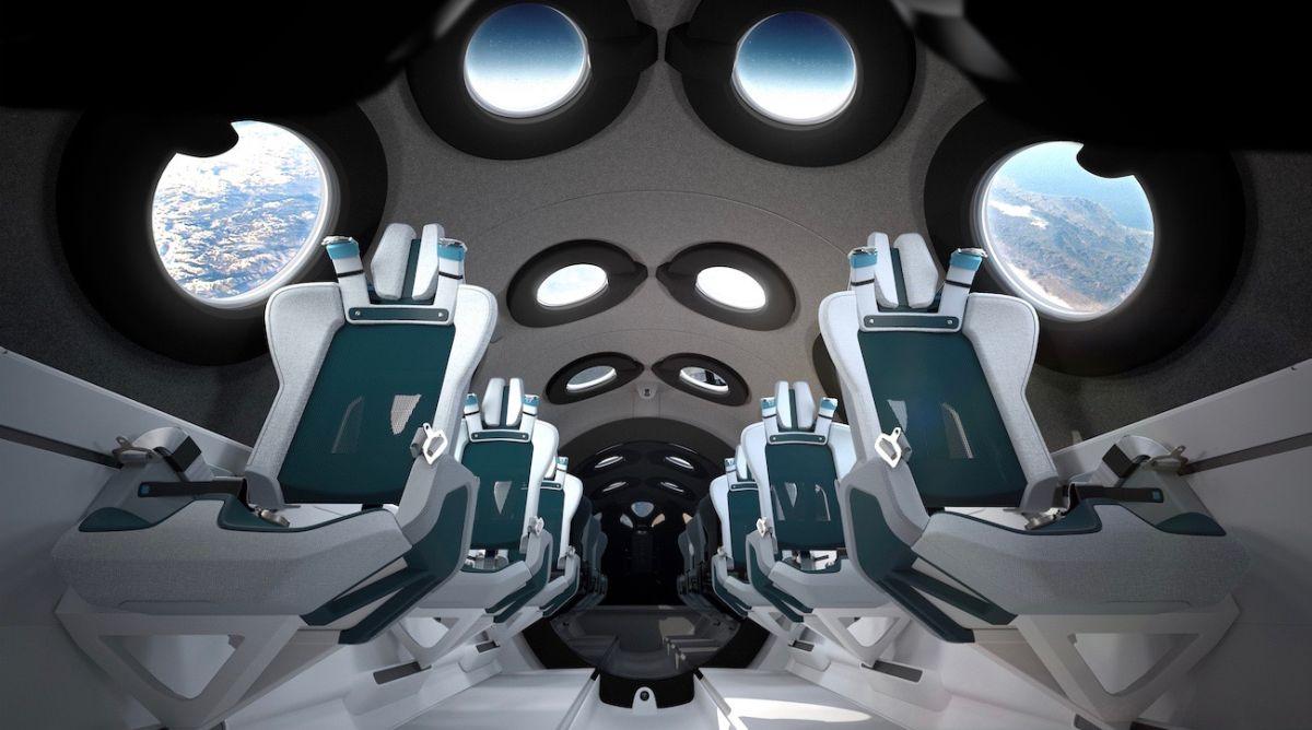 Virgin Galactic dévoile son vaisseau de tourisme spatial (et c'est mieux que le métro)