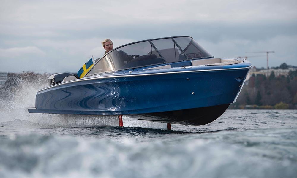 Comme Jésus, ce bateau électrique marche sur l'eau