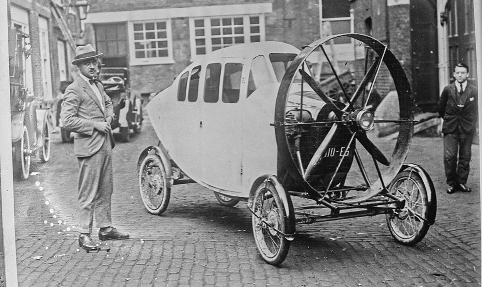 Il y a 100 ans, ce Français inventait la voiture à… hélice
