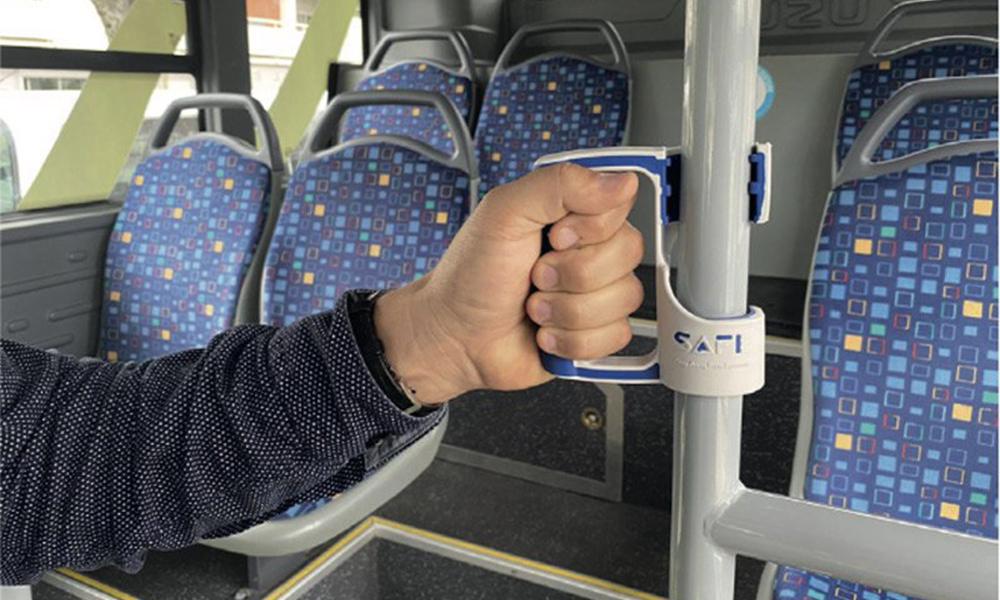 COVID-19 : cette poignée personnelle vous protège dans les transports en commun