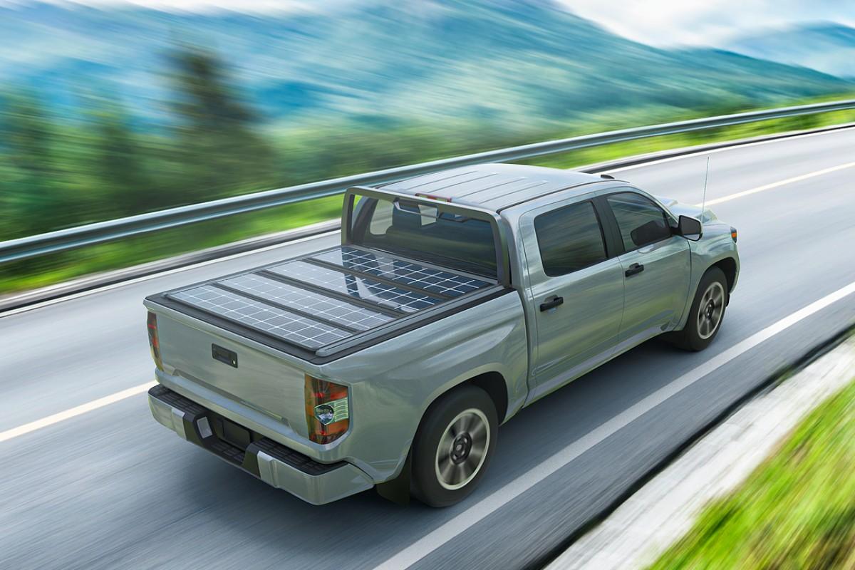 TerraVis, une solution pour électrifier les pickups avec des panneaux solaires