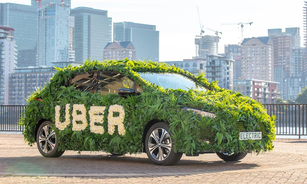 Uber dit non au diesel et annonce 50% de VTC électriques d'ici 2025