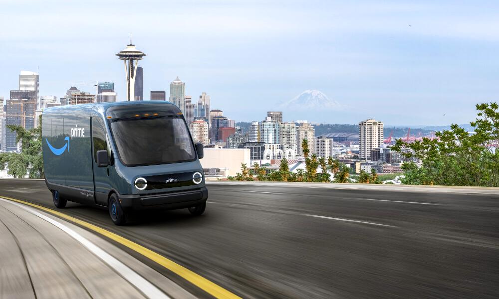 Amazon mise sur la livraison écologique avec 100 000 vans électriques