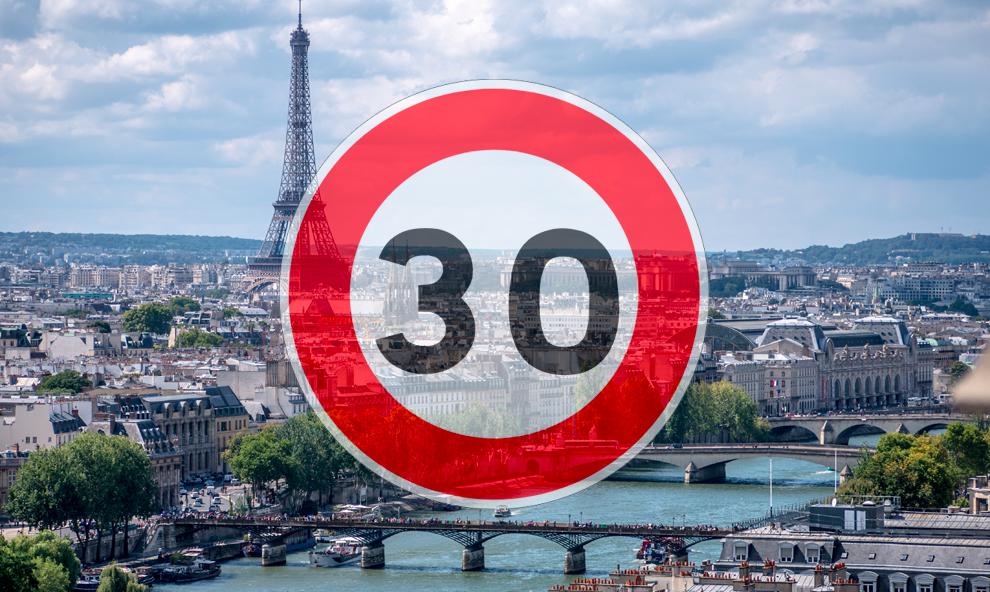 À Paris, le 30 km/h obligatoire partout dès 2021