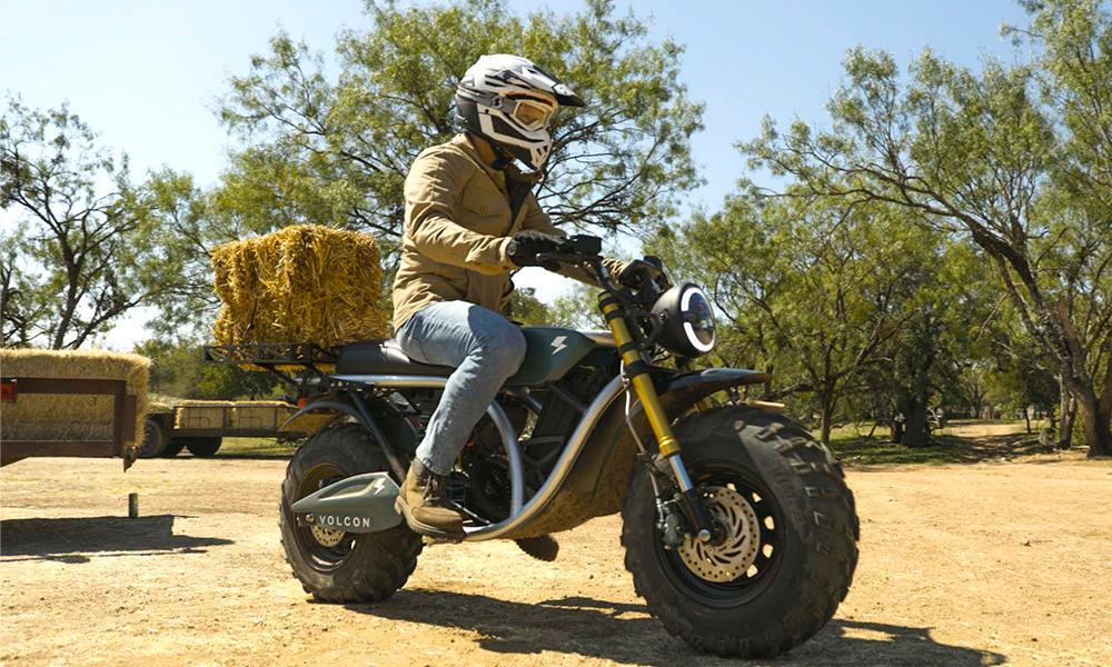 Cette moto électrique pour s'enfuir dans la forêt est à vous pour 5000 €