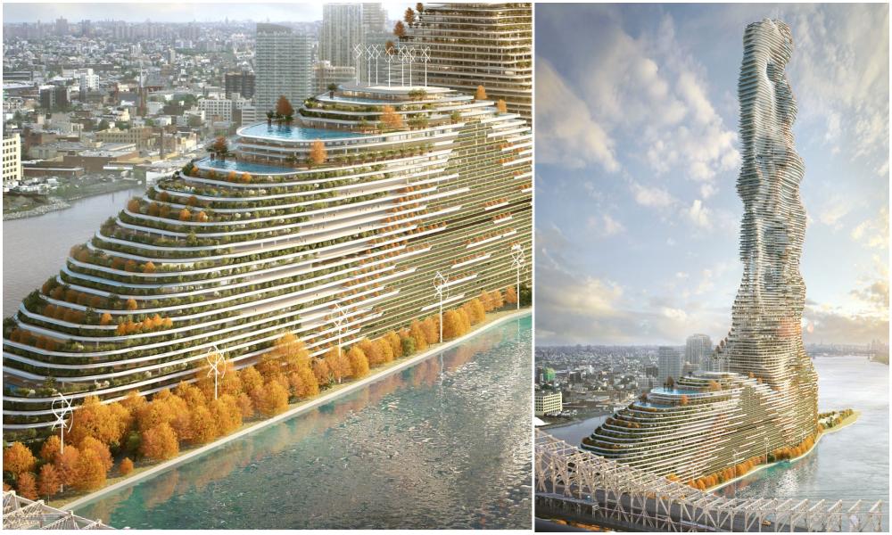 Cet immeuble en forme de paquebot pourrait absorber le CO2