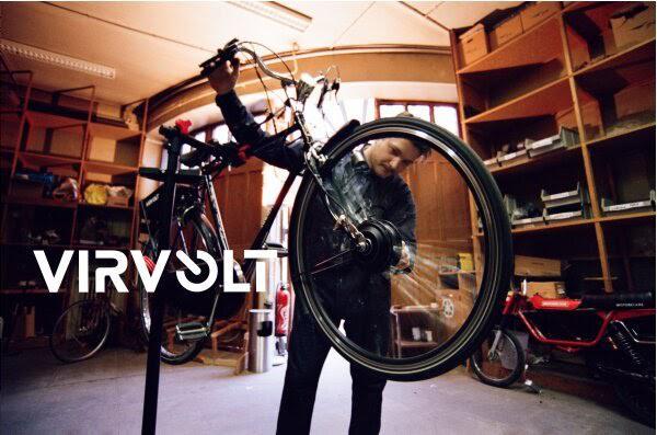 Virvolt, trois Parisiens électrifient n'importe quel vélo en 72h max