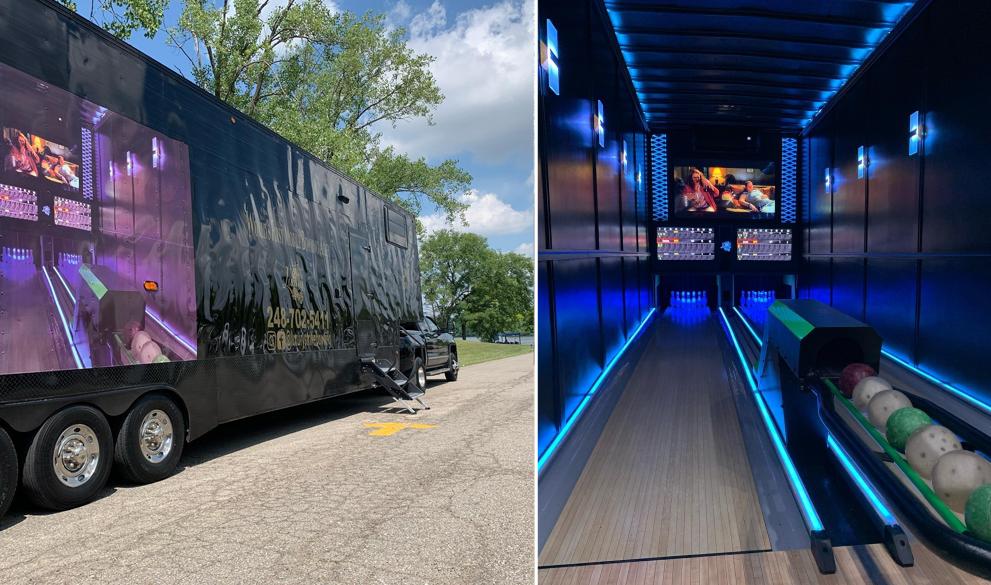 Strike ! Voici le premier camion salle de bowling