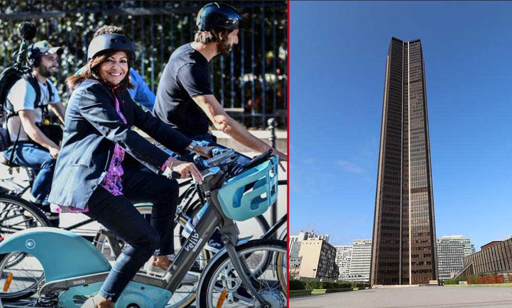 Un immense parking à vélos vient d'ouvrir sous la tour Montparnasse
