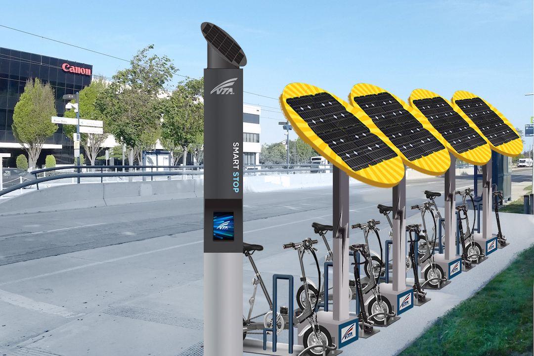 Swiftmile : ces bornes solaires rechargent gratuitement nos trottinettes et nos vélos