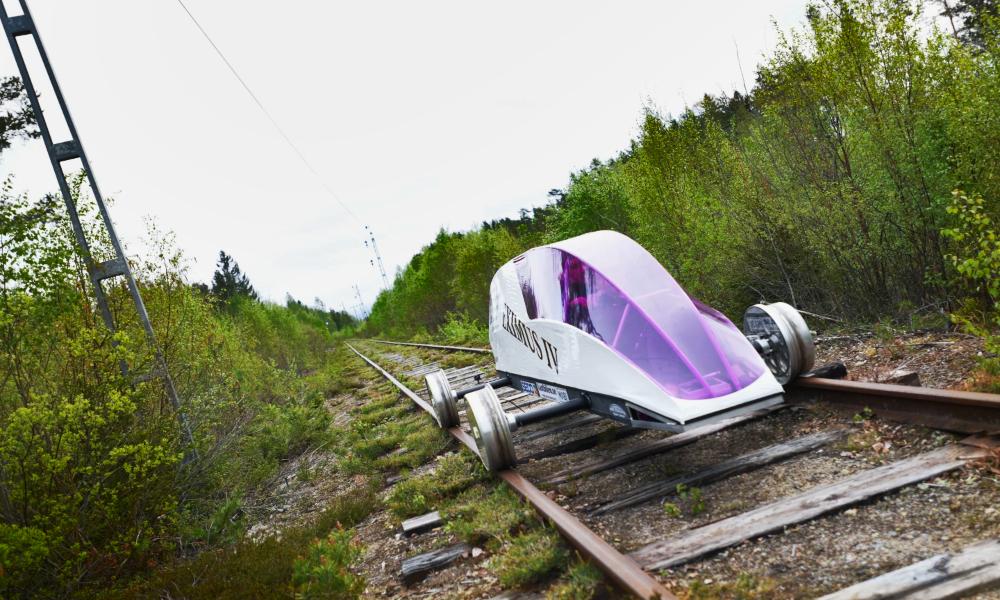 Cette voiture-train peut faire 20 000 km avec un seul plein