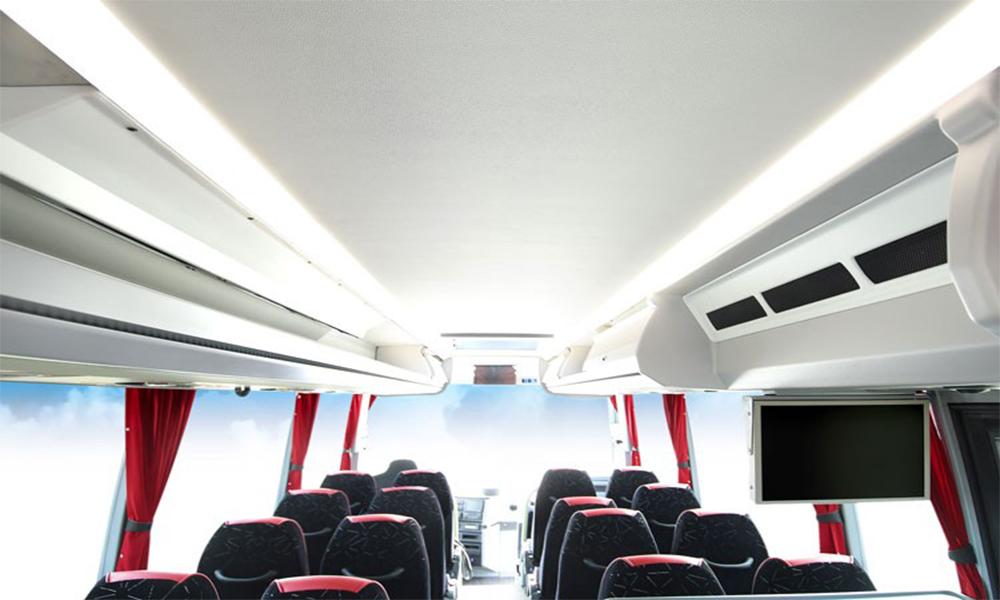 En Belgique, une marque de bus promet des voyages sans Covid-19 grâce à des purificateurs d'air