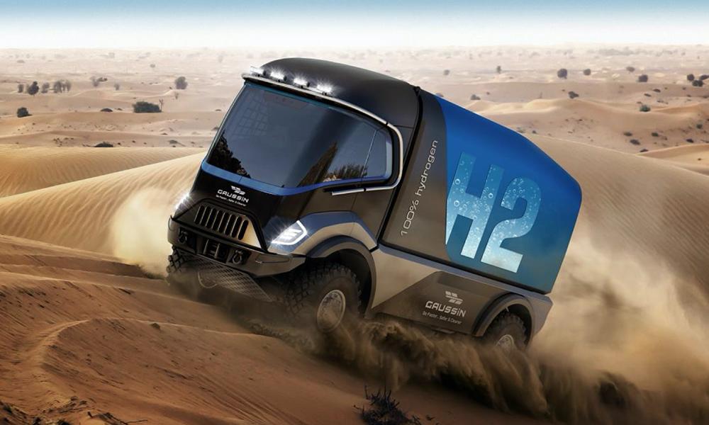Pour la première fois, des camions à hydrogène au départ du Dakar 2021