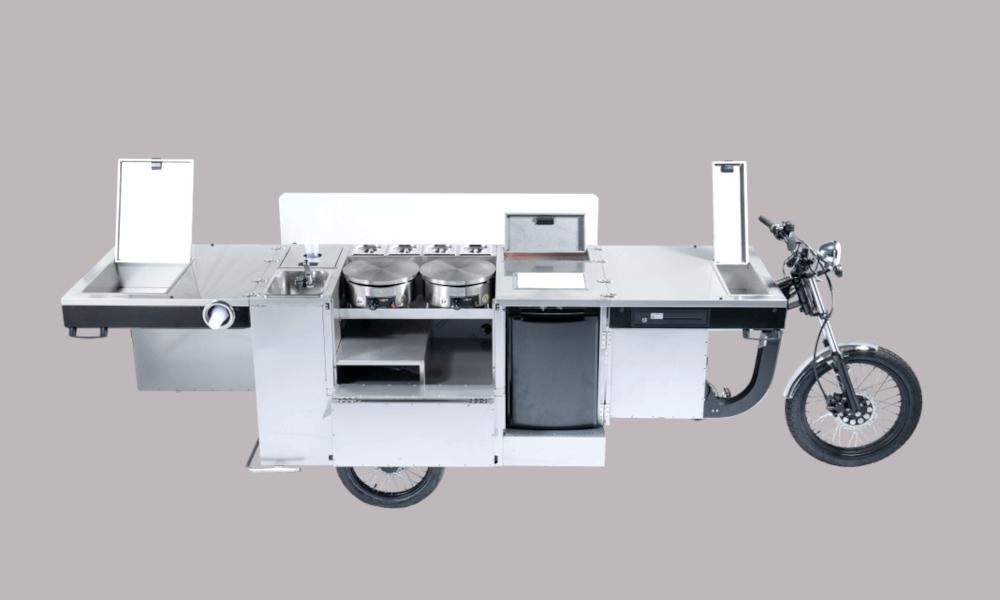 Voici le premier vélo électrique qui se transforme en cuisinière (?!)