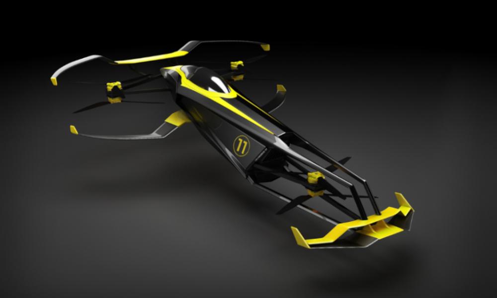 Inspirée de Batman, cette voiture volante est fabriquée à… Aix-en-Provence