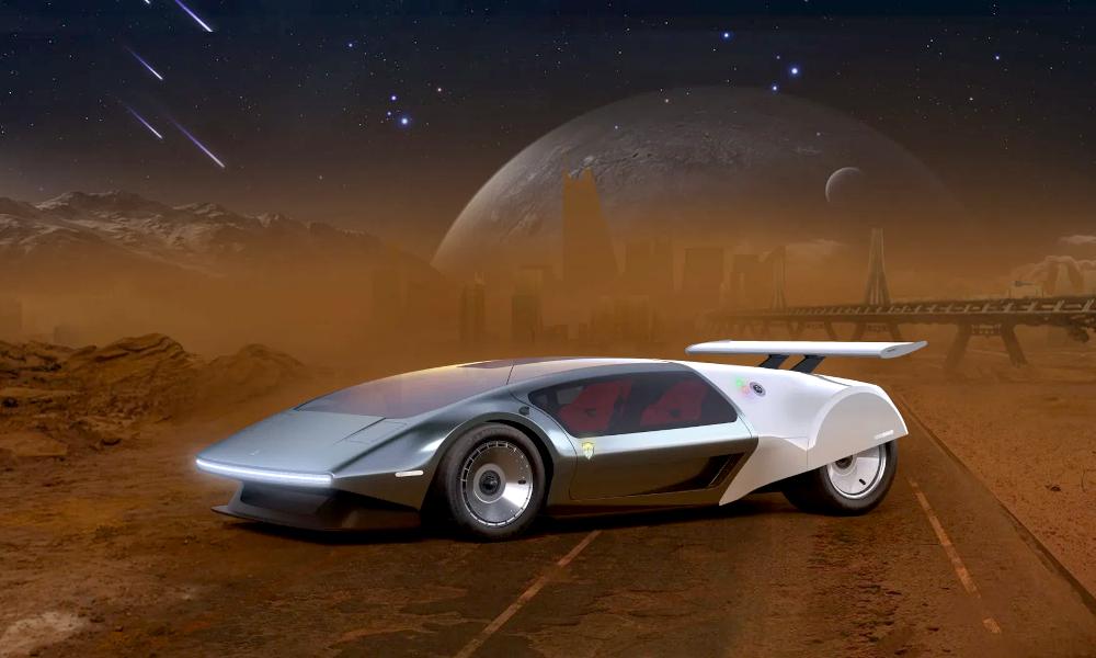 Cette super-voiture à hydrogène promet des voyages de 4500 km sans recharge