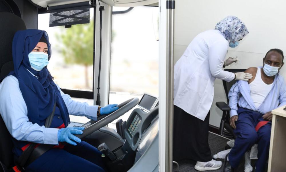 A Dubai, on vaccine en priorité… les chauffeurs de bus et de métro