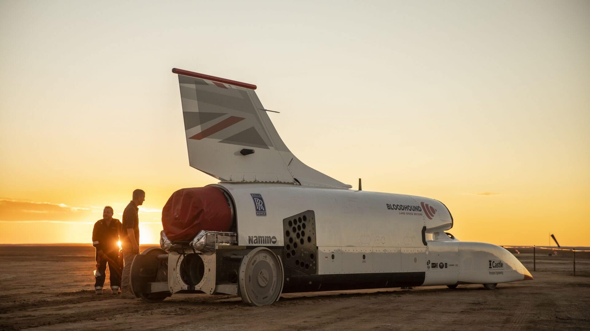 Deux fois plus rapide qu'un avion de ligne, cette voiture-fusée est à vendre