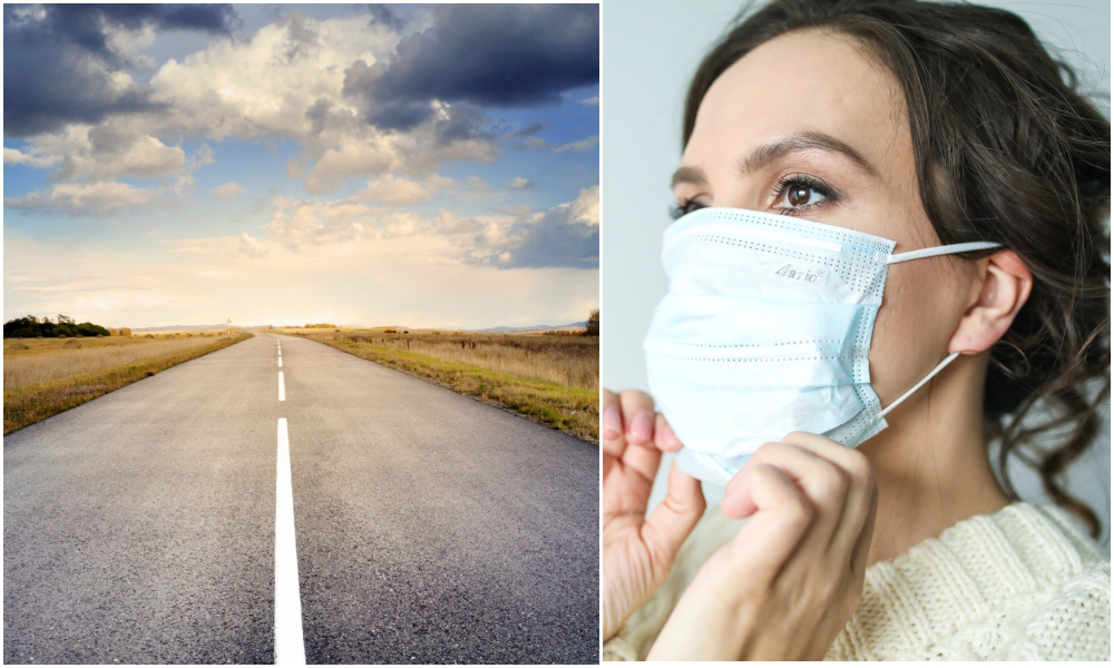 Les masques à usage unique pourraient bientôt être recyclés en... route