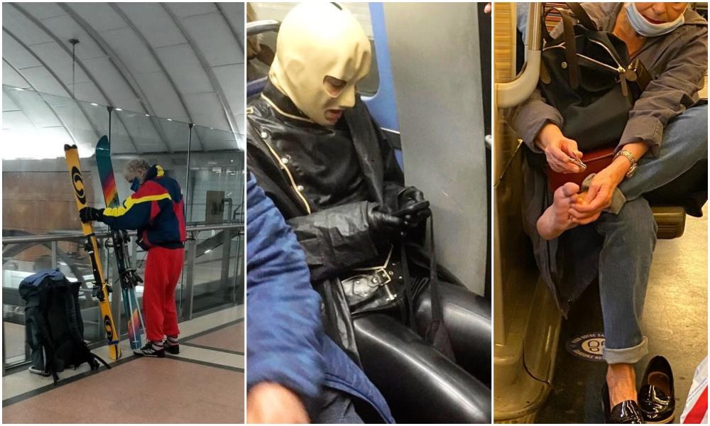 """""""Les gens dans le métro"""" : le compte Instagram le plus fou sur les transports en commun"""
