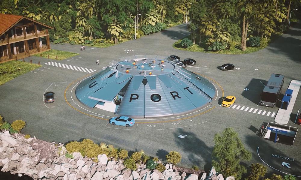 Le premier aéroport pour taxis volants sera inauguré en Angleterre dès 2021
