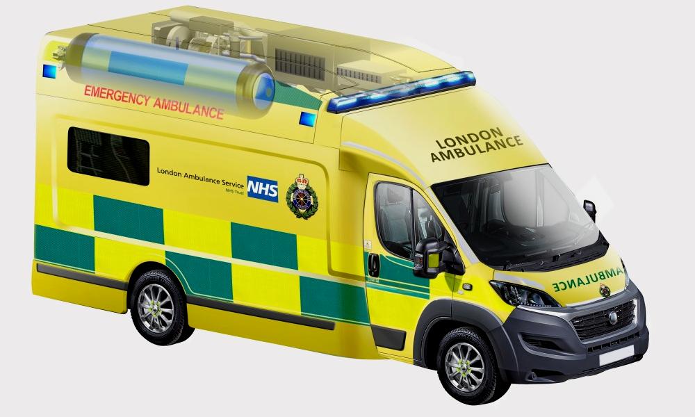 Pour sauver des vies, Londres lance une ambulance qui carbure à l'hydrogène
