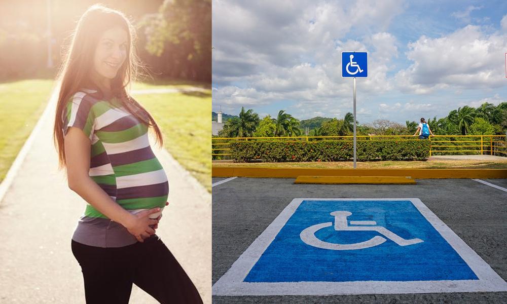 Les femmes enceintes bientôt autorisées à se garer sur les places handicapées ?