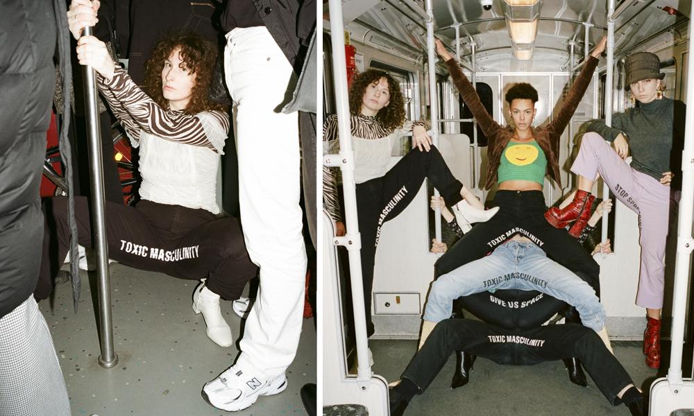 Ces militantes écartent les jambes dans le métro pour dire NON au