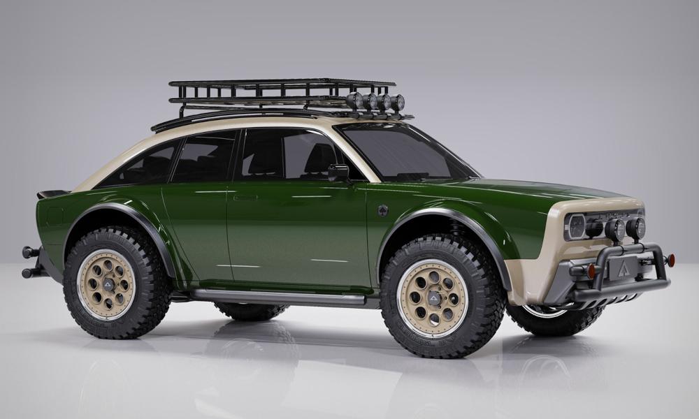 Ce 4x4 électrique est taillé pour tous les safaris urbains