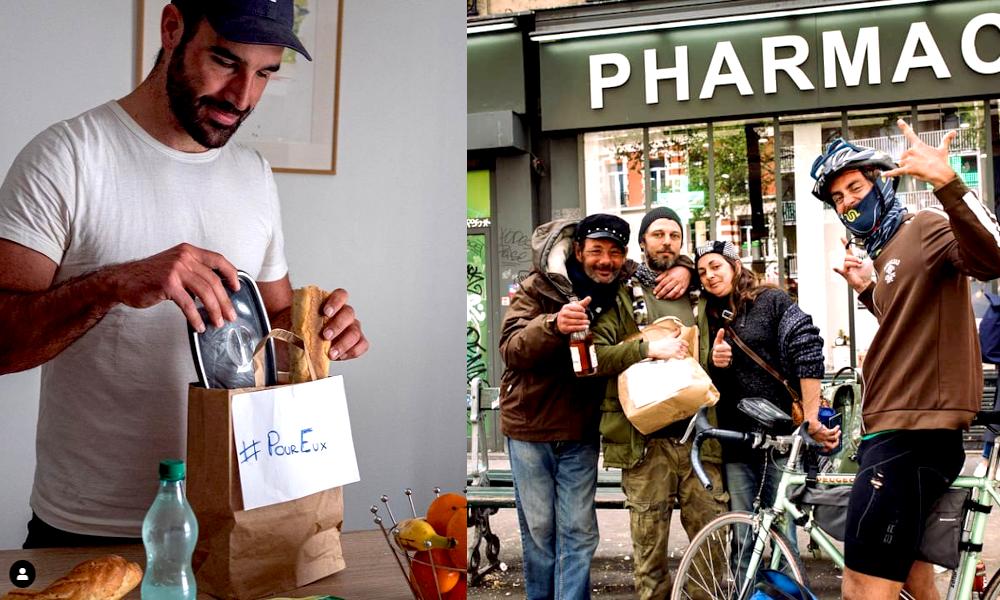 #PourEux : un réseau solidaire pour livrer des repas aux SDF et aux personnes en détresse