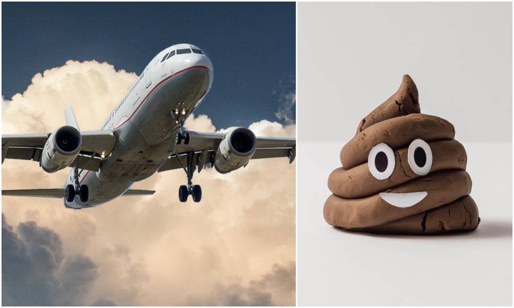Nos excréments peuvent faire voler les avions, selon la science