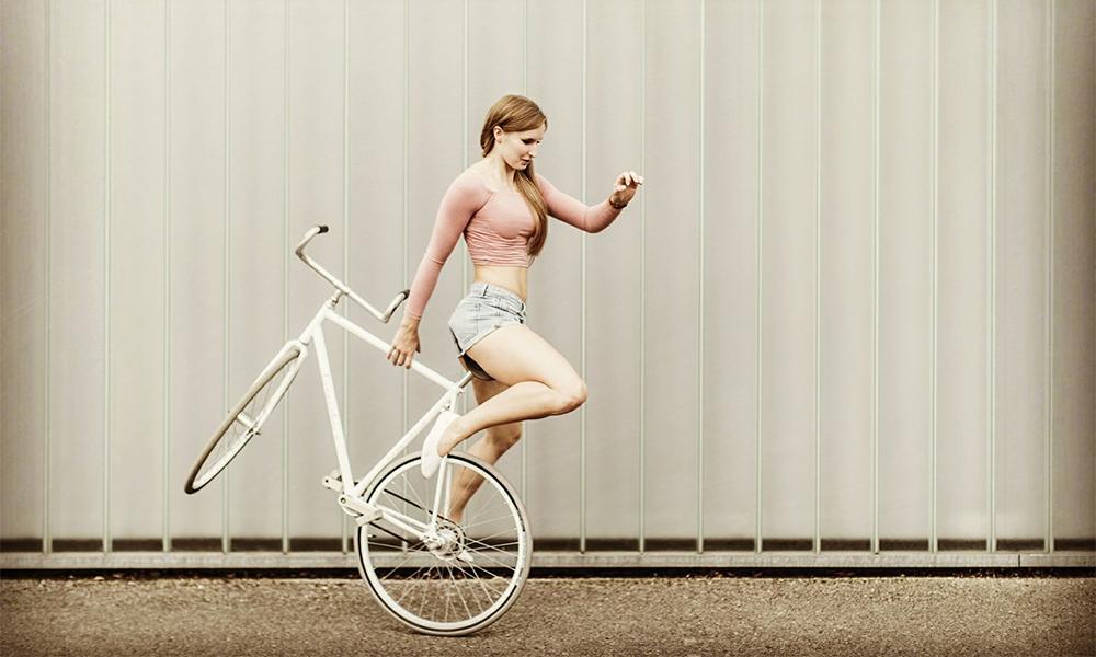 Rencontre avec Viola, championne de... cyclisme artistique !