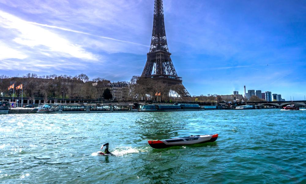 A 19 ans, il va parcourir les 784 km de la Seine à la nage