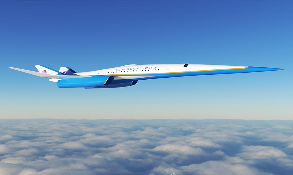 L'avion du futur Président des USA pourrait foncer à 2200 km/h