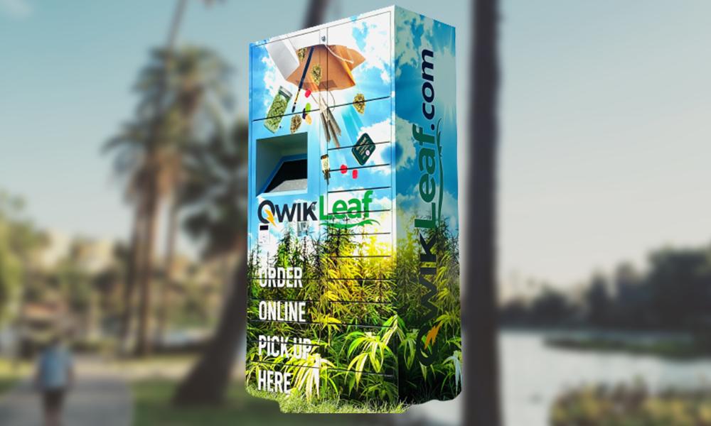 """À Los Angeles, on peut récupérer son cannabis dans ces bornes """"click & collect"""""""