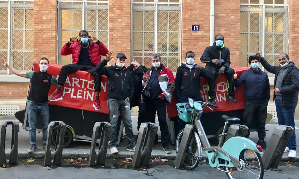 Carton Plein : une solution écolo pour déménager grâce à des... cyclistes