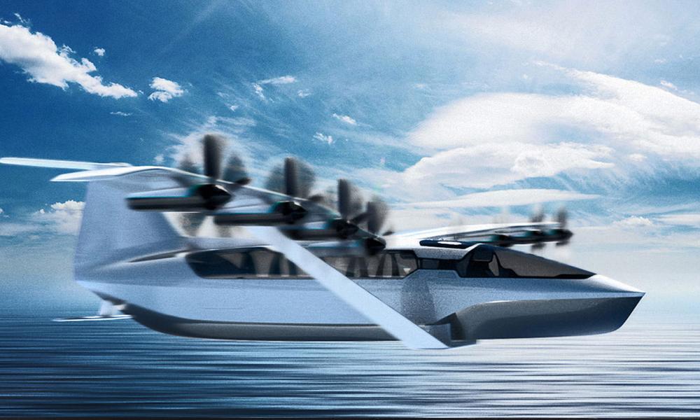 Moitié avion, moitié bateau : ce ferry électrique vole à la surface de l'eau