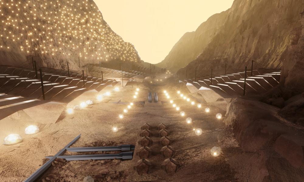Elon Musk veut construire la première ville martienne avant 2030