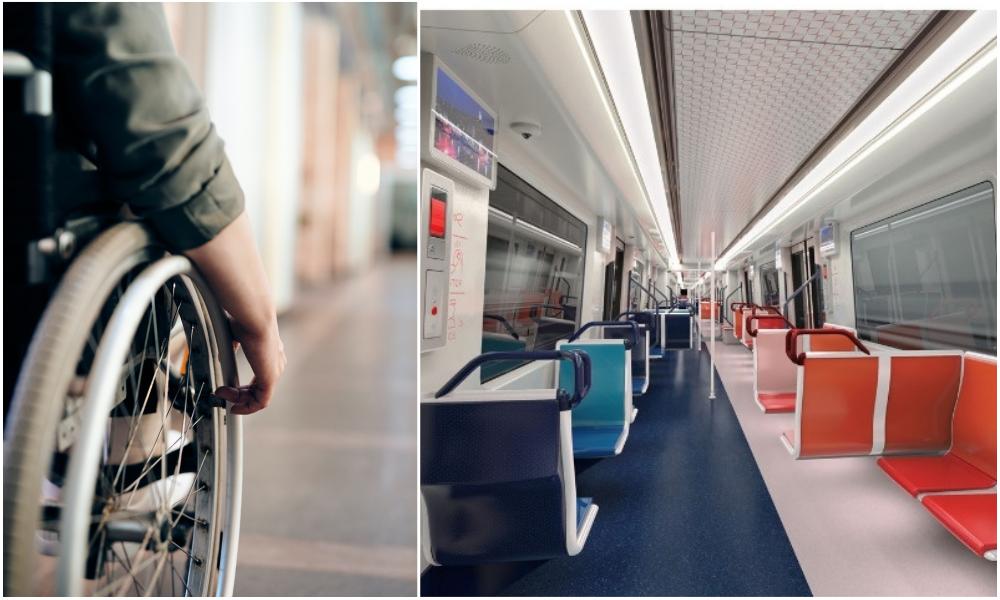 À Marseille, des personnes handicapées testent l'accessibilité du futur métro