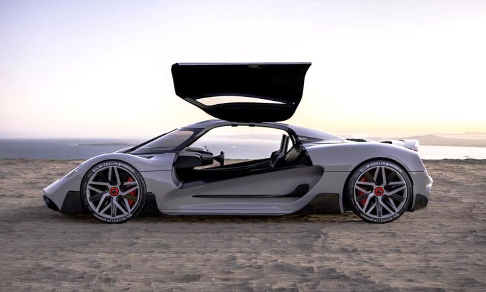 Ce supercar à 1,7 millions d'euros carbure à l'hydrogène ! (vidéo) Par Hilaire Picault (Détours) Apricale-portes-papillon