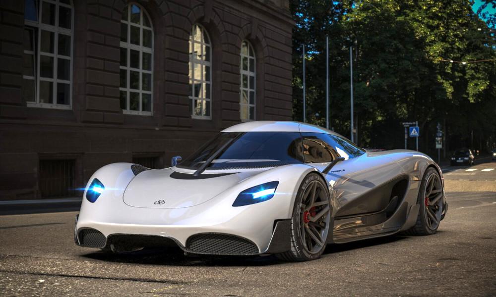 Ce supercar à 1,7 millions d'euros carbure à l'hydrogène ! (vidéo) Par Hilaire Picault (Détours) Apricale-supercar