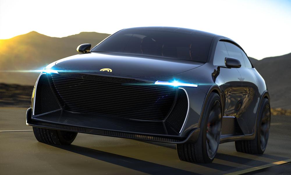 Voici le Humble One, une voiture solaire qui peut foncer à 250 km/h