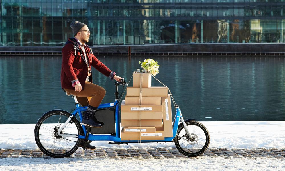 Pollution : le gouvernement veut remplacer les camions de livraison par des vélos-cargos