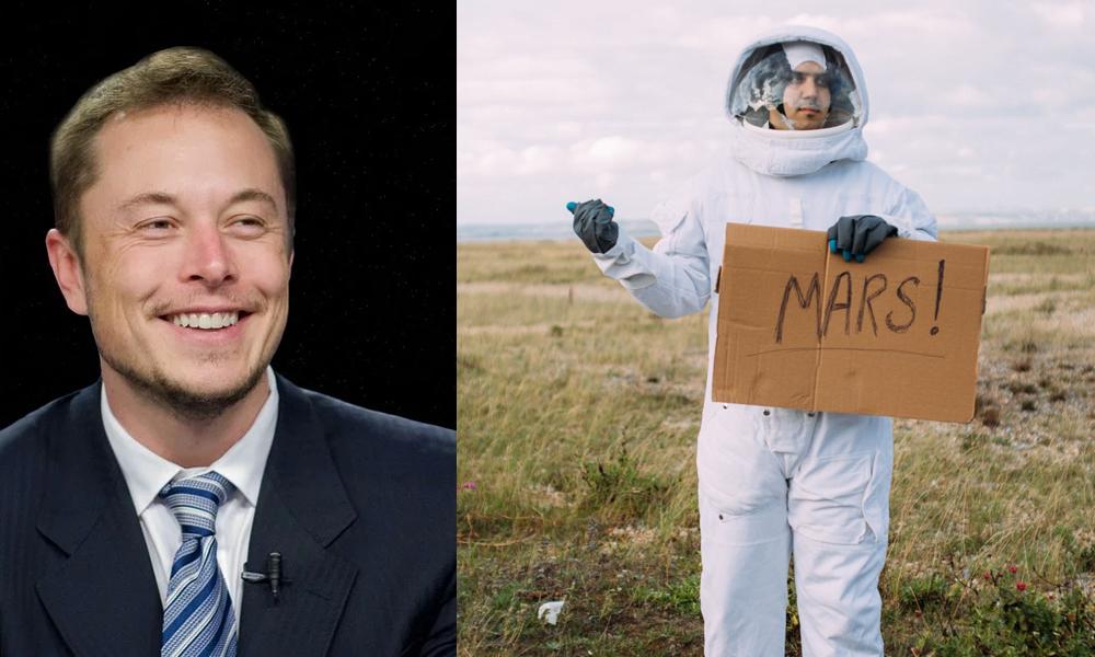 Elon Musk recrute des volontaires pour partir mourir sur Mars