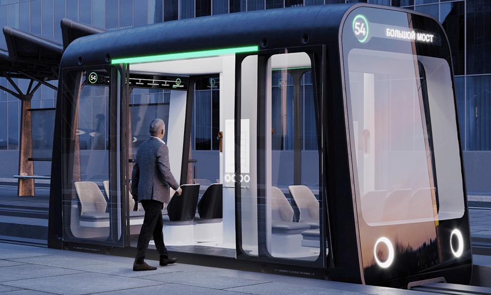 La Russie invente le tram du futur, à poser entre deux routes