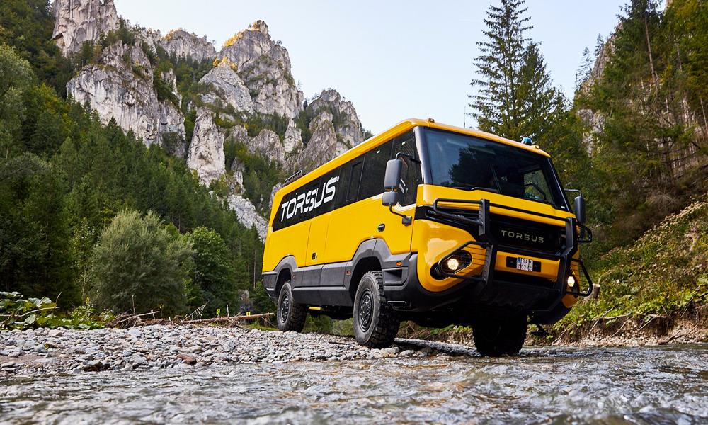 Le Torsus Pretorian : un bus pour 35 personnes qui peut résister à la fin du monde