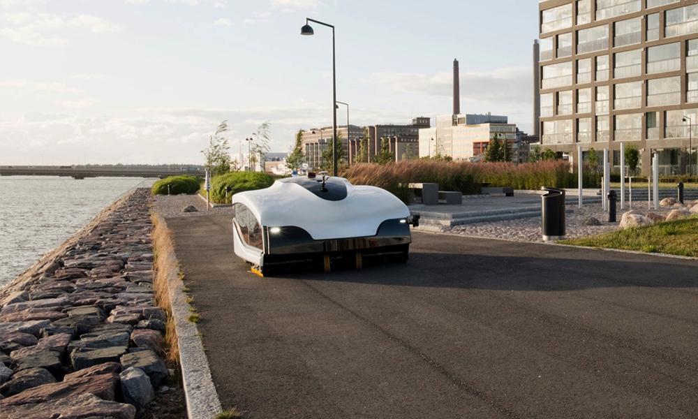 Ce robot-balayeur peut nettoyer une ville entière en une heure