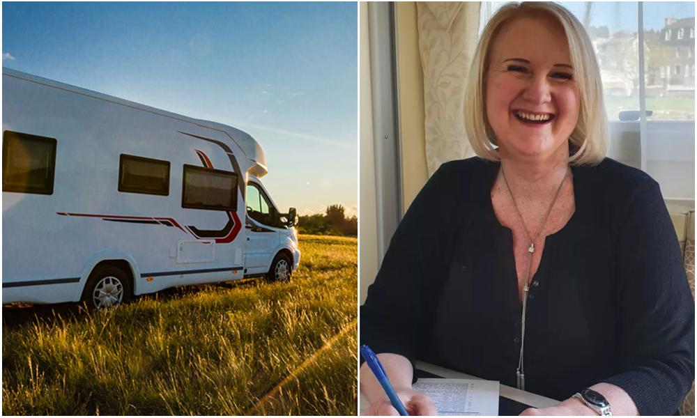 Cette Bretonne aide les gens à trouver l'amour dans son camping-car