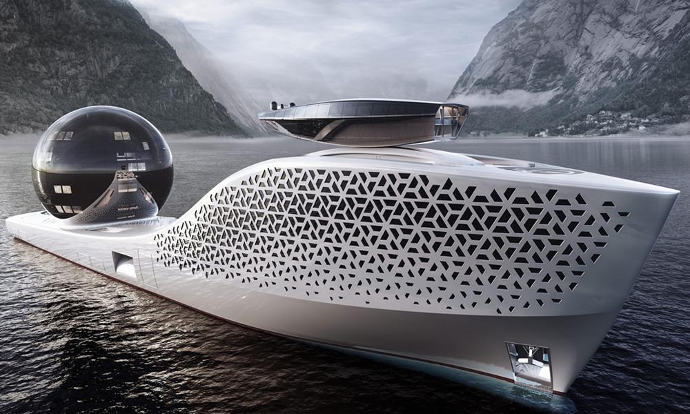 Earth 300 : un projet fou de yacht nucléaire pour sauver la planète